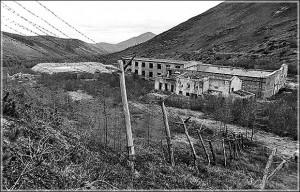 Лагерь Бутугычаг в Тенькинском районе. Фабрика по переработке урановой руды.