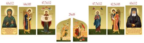 Заказаны иконы для иконостаса