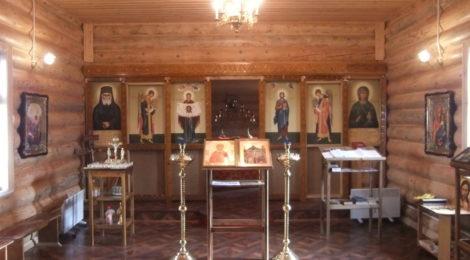 В тюремном храме началась установка иконостаса